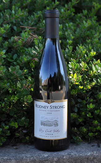 Rodney Strong Vineyards 2008 Dry Creek Valley Syrah 750ml Wine Bottle