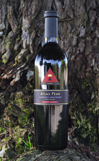 Atlas Peak Wines 2005 Mount Veeder Cabernet Sauvignon 750ml Wine Bottle