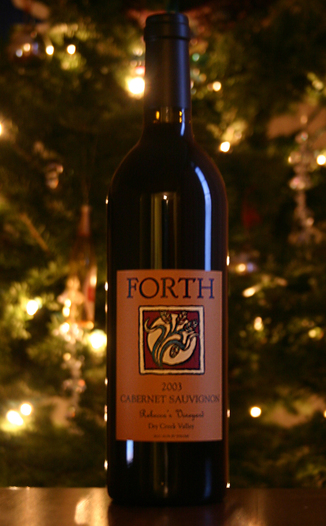 Forth Vineyards 2003 Estate Cabernet Sauvignon 750ml Wine Bottle