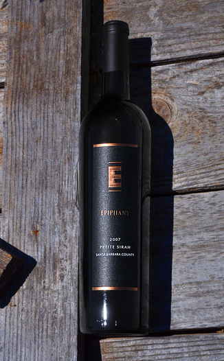 Epiphany Cellars 2007 Santa Barbara County Petite Sirah 750ml Wine Bottle