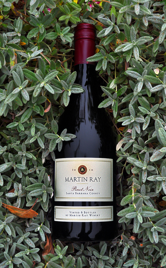Martin Ray Winery 2010 Santa Barbara County Pinot Noir 750ml Wine Bottle