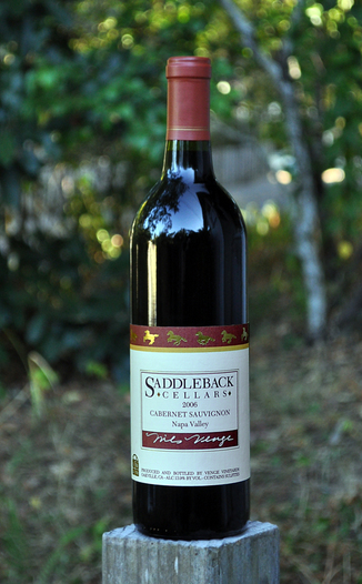 Saddleback Cellars 2006 Oakville Cabernet Sauvignon 750ml Wine Bottle