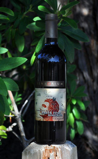 Sensorium Wines 2006 Santa Cruz Mountains Cabernet Sauvignon 750ml Wine Bottle