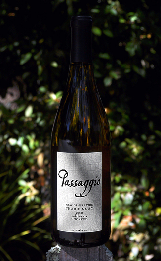 Passaggio Wines 2010 New Generation Unoaked Chardonnay 750ml Wine Bottle