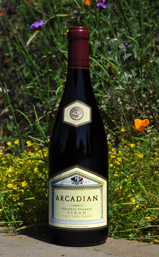 Arcadian Winery 2005 Stolpman Vineyard Syrah 750ml Wine Bottle