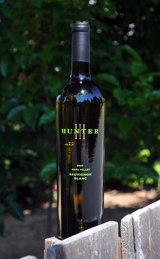 Hunter III Wines 2007 Napa Valley Sauvignon Blanc 750ml Wine Bottle