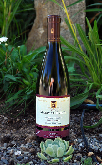 Marimar Estate Vineyards 2006 'Christina' Russian River Valley Pinot Noir 750ml Wine Bottle