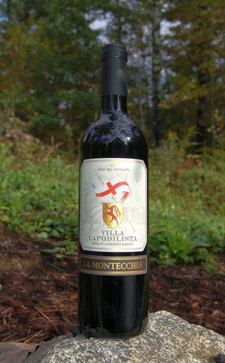 La Montecchia 2007 Villa Capodilista Colli Euganei D.O.C. 750ml Wine Bottle
