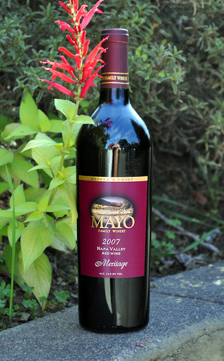 Mayo Family Winery 2007 Napa Valley Meritage 750ml Wine Bottle