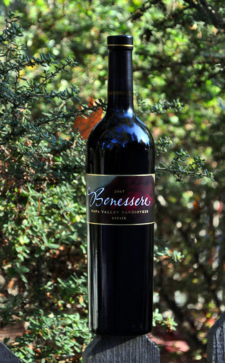 Benessere Vineyards 2007 Napa Valley Sangiovese 750ml Wine Bottle