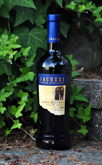 Jacuzzi Family Vineyards 2009 Nero D'Avola 750ml Wine Bottle