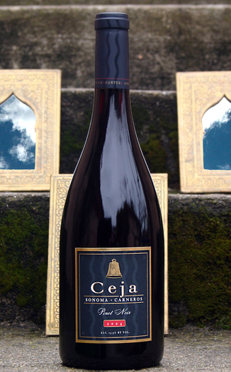 Ceja Vineyards 2004 Sonoma Carneros Pinot Noir 750ml Wine Bottle