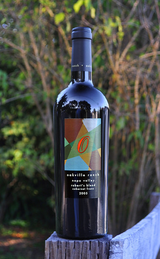 Oakville Ranch Vineyards 2005 Robert's Blend Cabernet Franc 750ml Wine Bottle