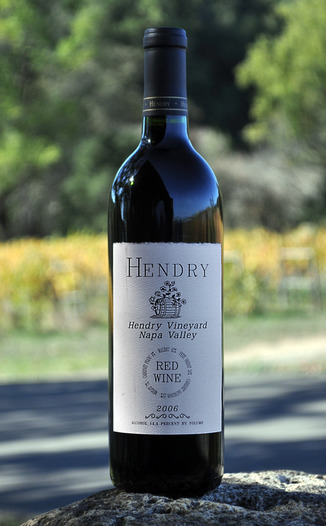 Hendry Ranch Wines 2006 Napa Valley Red Wine 750ml Wine Bottle