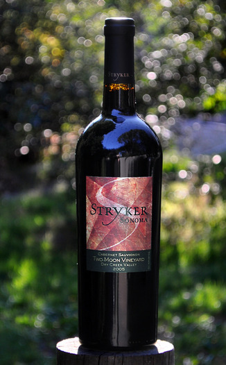 Stryker Sonoma 2005 Two Moon Vineyard Cabernet Sauvignon 750ml Wine Bottle