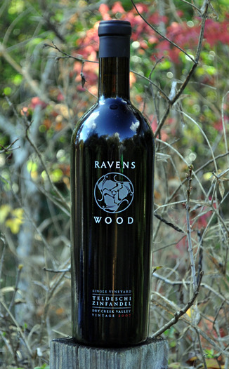 Ravenswood Winery 2007 Teldeschi Vineyard Zinfandel 750ml Wine Bottle