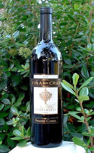 Iridesse 2000 VDLC Sangiovese 750ml Wine Bottle