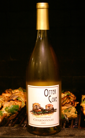 Otter Cove Winery 2005 Chardonnay 750ml Wine Bottle