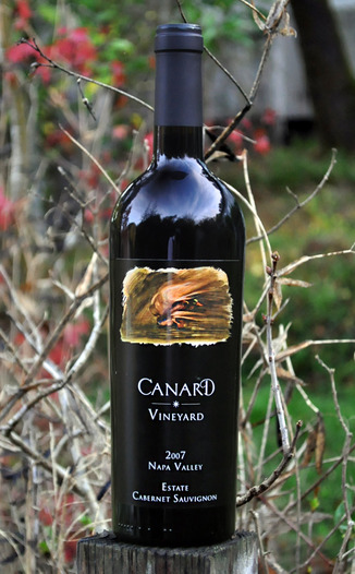 Canard Vineyard 2007 Napa Valley Estate Cabernet Sauvignon 750ml Wine Bottle