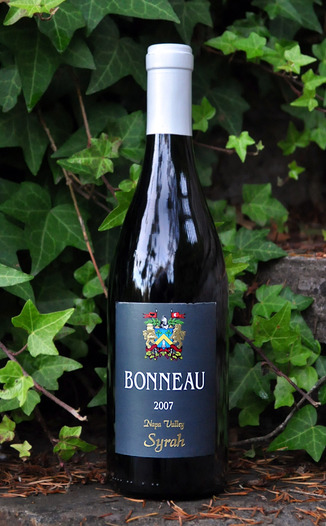 Bonneau Wines 2007 Napa Valley Syrah 750ml Wine Bottle