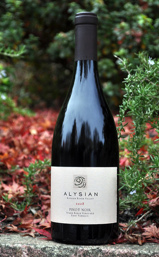 Alysian Wines 2008 Starr Ridge Vineyard Pinot Noir 750ml Wine Bottle