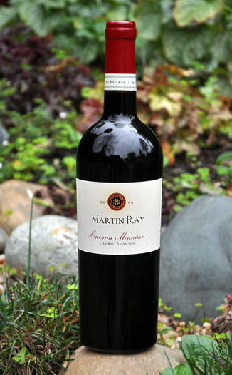 Martin Ray Winery 2009 Sonoma Mountain Cabernet Sauvignon 750ml Wine Bottle