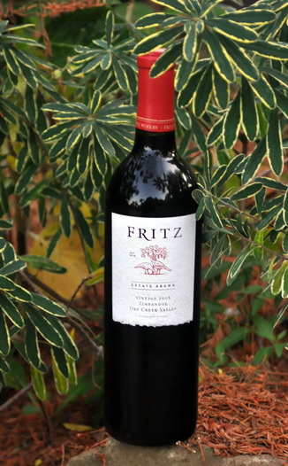 Fritz Underground Winery 2008 Dry Creek Valley Estate Zinfandel  750ml Wine Bottle
