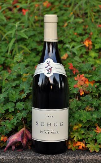 Schug Carneros Estate 2008 Carneros Pinot Noir 750ml Wine Bottle