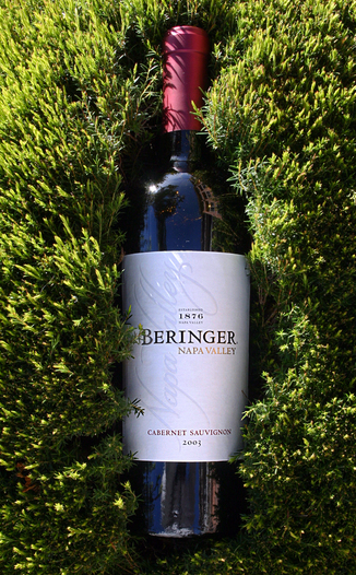 Beringer Vineyards 2003 Cabernet Sauvignon 750ml Wine Bottle