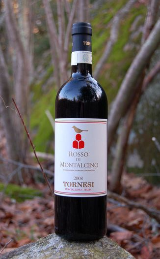 Le Benducce de Tornesi 2008 Rosso di Montalcino DOC 750ml Wine Bottle