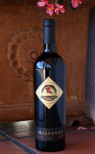 Castello di Gabbiano 2000 Alleanza - Super Tuscan 750ml Wine Bottle