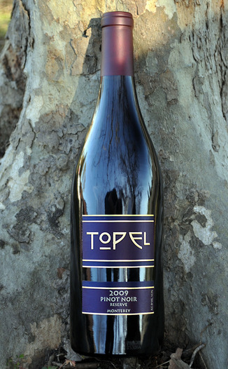 Topel Winery 2009 Reserve Pinot Noir 750ml Wine Bottle