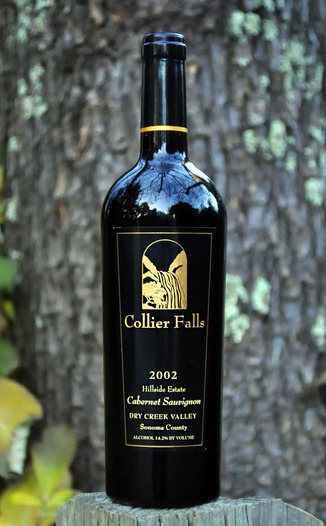Collier Falls 2002 Hillside Estate Cabernet Sauvignon 750ml Wine Bottle
