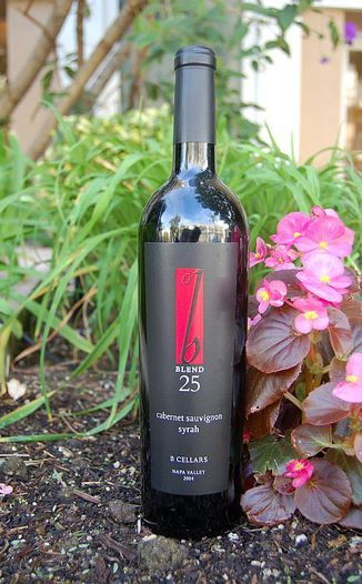 B Cellars 2004 Blend 25 750ml Wine Bottle