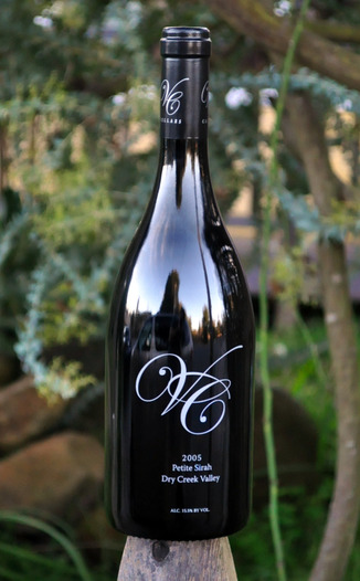 VC Cellars 2005 Dry Creek Valley Petite Sirah 750ml Wine Bottle