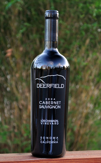 Deerfield Ranch 2004 Los Chamizal Vineyards Cabernet Sauvignon 750ml Wine Bottle