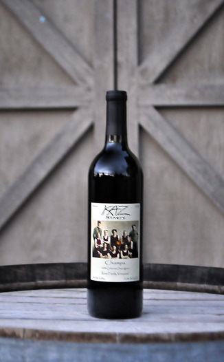 Kaz Winery 2008 'Champs' Cabernet Sauvignon 750ml Wine Bottle