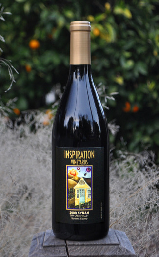 Inspiration Vineyards & Winery 2009 Dry Creek Valley Syrah 750ml Wine Bottle
