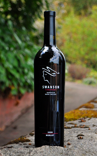 Swanson Vineyards 2008 Oakville Merlot 750ml Wine Bottle
