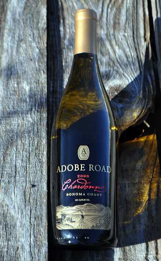 Adobe Road 2008 Sonoma Coast Chardonnay 750ml Wine Bottle