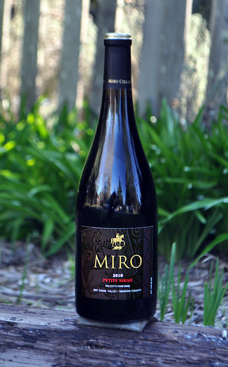 Miro Cellars 2010 Dry Creek Valley Petite Sirah 750ml Wine Bottle
