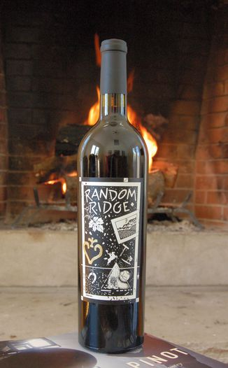 Random Ridge 2007 Mount Veeder Cabernet Sauvignon 750ml Wine Bottle