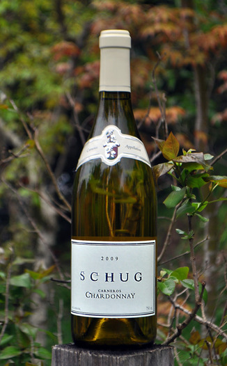 Schug Carneros Estate 2009 Carneros Chardonnay 750ml Wine Bottle