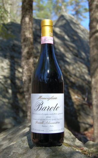 Fratelli Alessandria 2006 Barolo 'Monvigliero' DOCG 750ml Wine Bottle