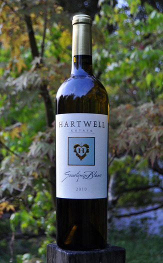 Hartwell Vineyards 2010 Estate Sauvignon Blanc 750ml Wine Bottle