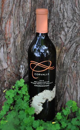 Corvalle 2010 Weka Ranch Vineyard Chardonnay 750ml Wine Bottle
