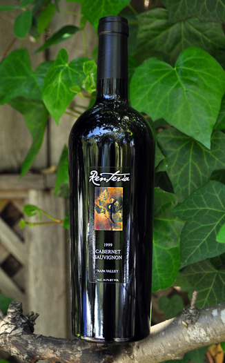 Renteria 1999 Cabernet Sauvignon 750ml Wine Bottle