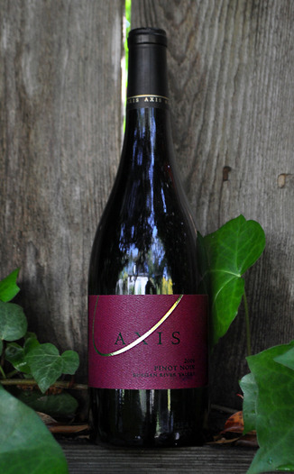 Axis Cellars 2006 Russian River Valley Pinot Noir 750ml Wine Bottle