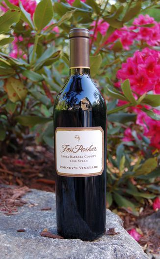 Fess Parker Winery 2008 Rodney's Vineyard Syrah 750ml Wine Bottle