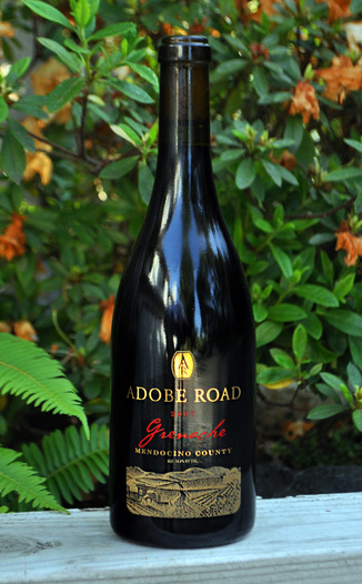 Adobe Road 2007 Mendocino County Grenache 750ml Wine Bottle